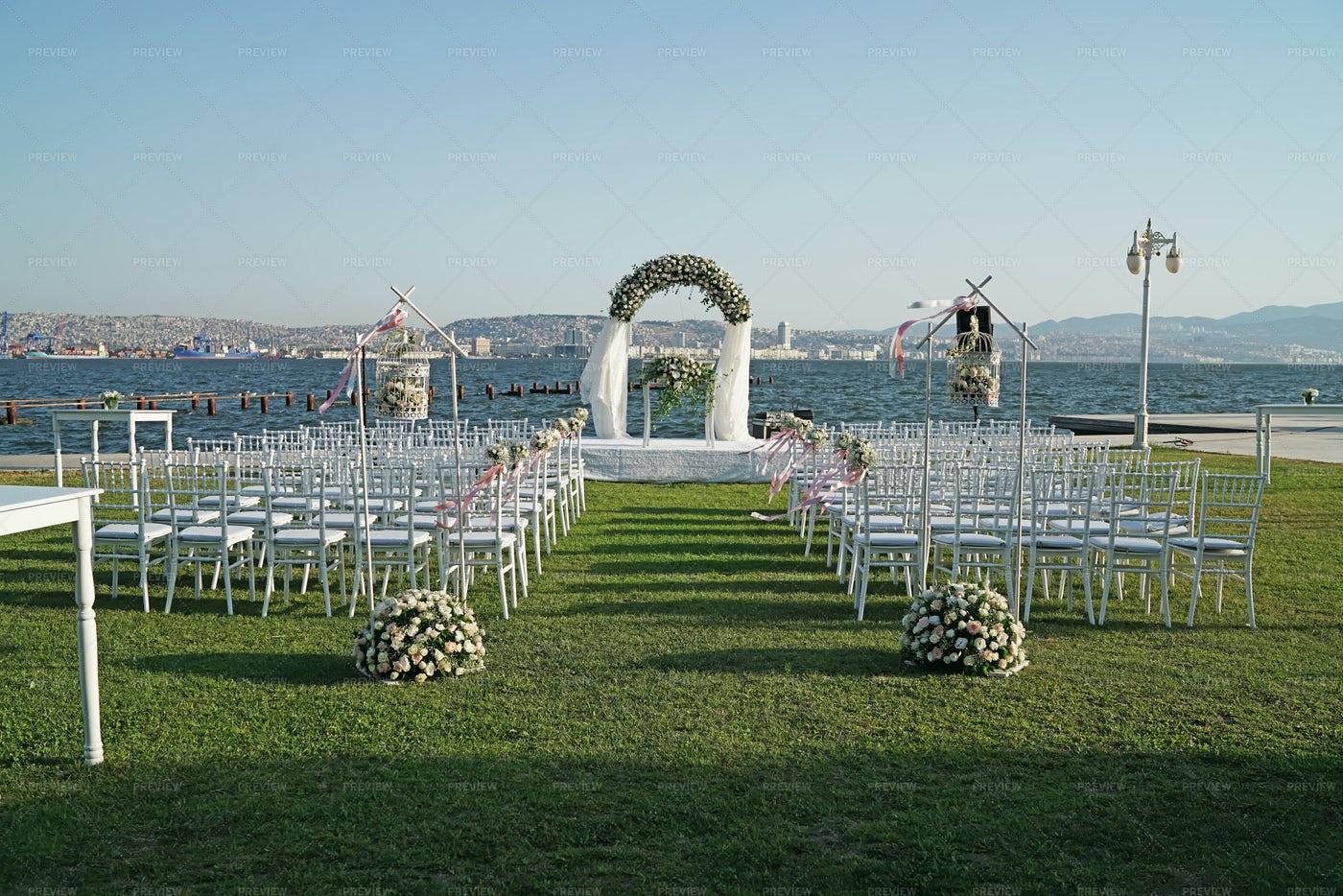 Wedding Ceremony Place: Stock Photos