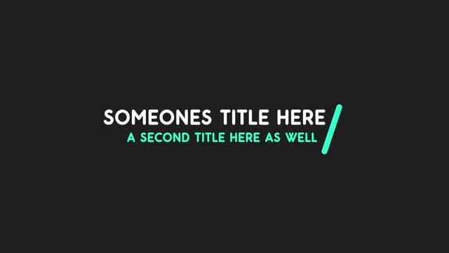 Rounded Line Thirds: After Effects Templates