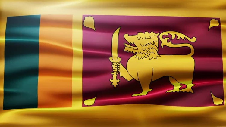 Sri Lanka Flag: Motion Graphics