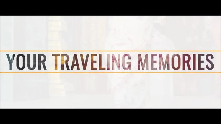 Your Travel Memories: After Effects Templates
