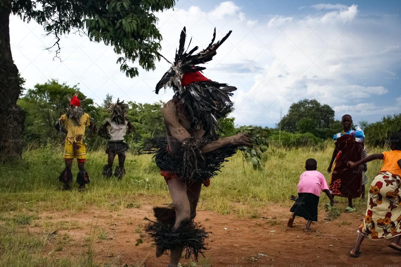 Nyau Dancer: Stock Photos