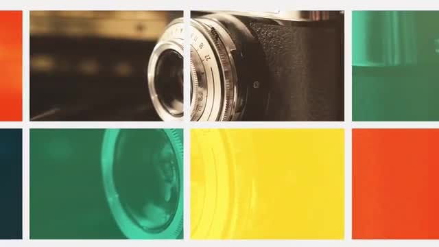 Color Grid: After Effects Templates