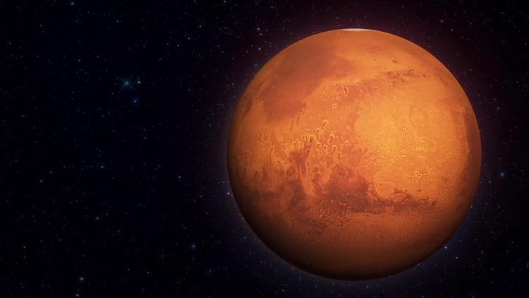 Mars Planet 01: Motion Graphics