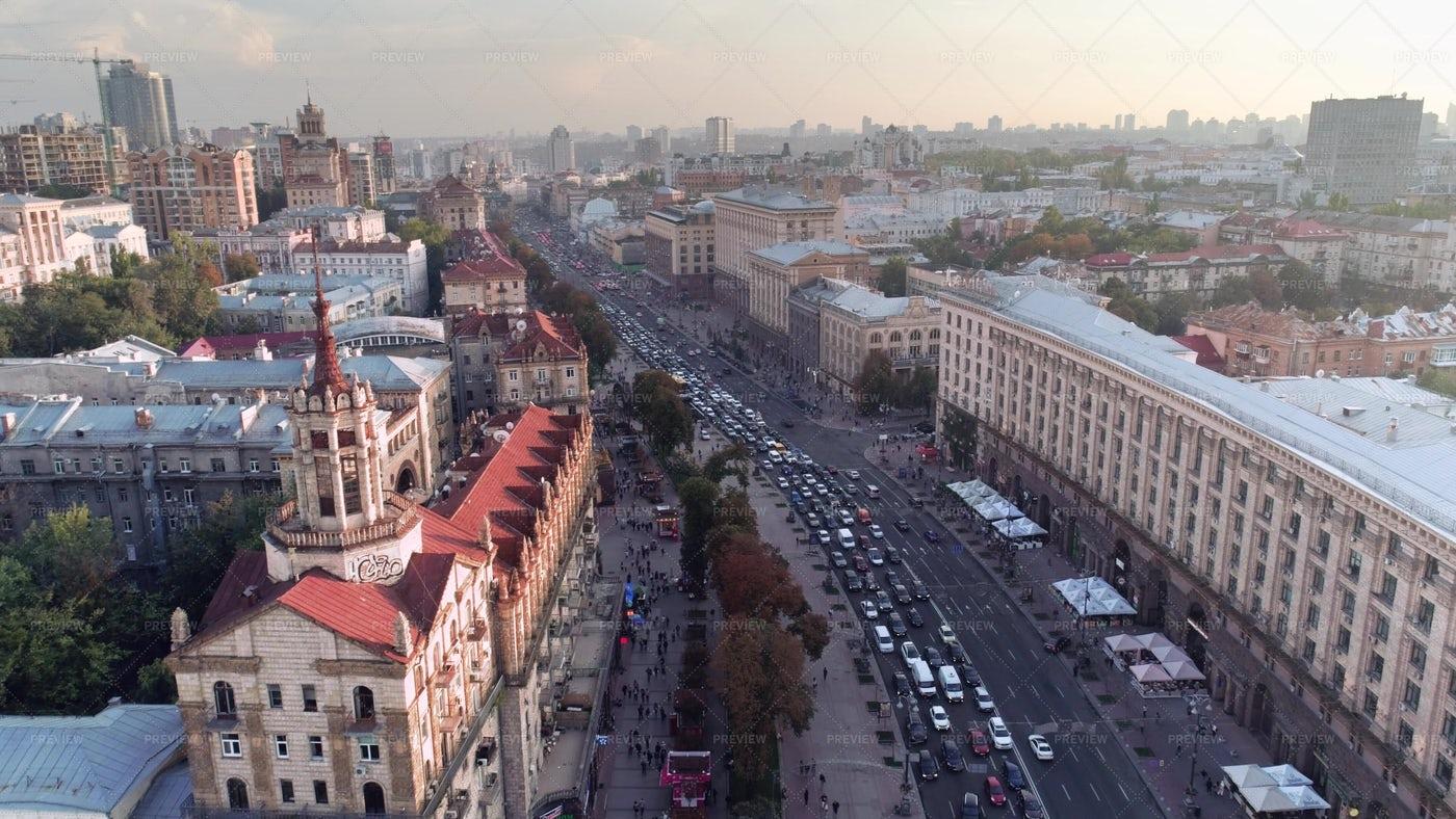 Khreshchatyk Street: Stock Photos