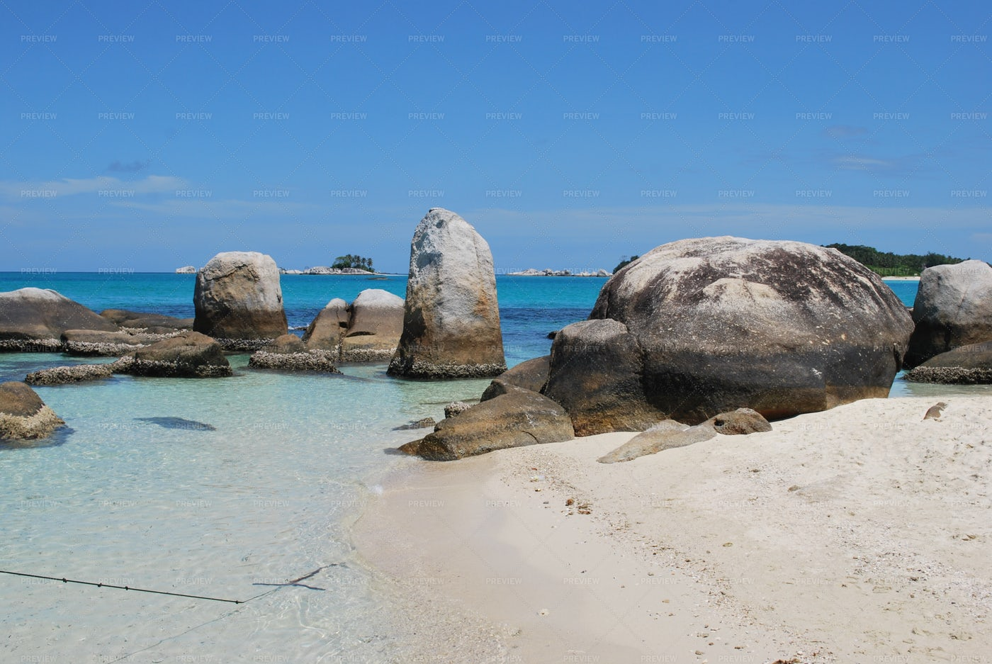 Batu Island Coast: Stock Photos