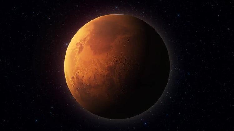 Mars Planet 02: Stock Motion Graphics