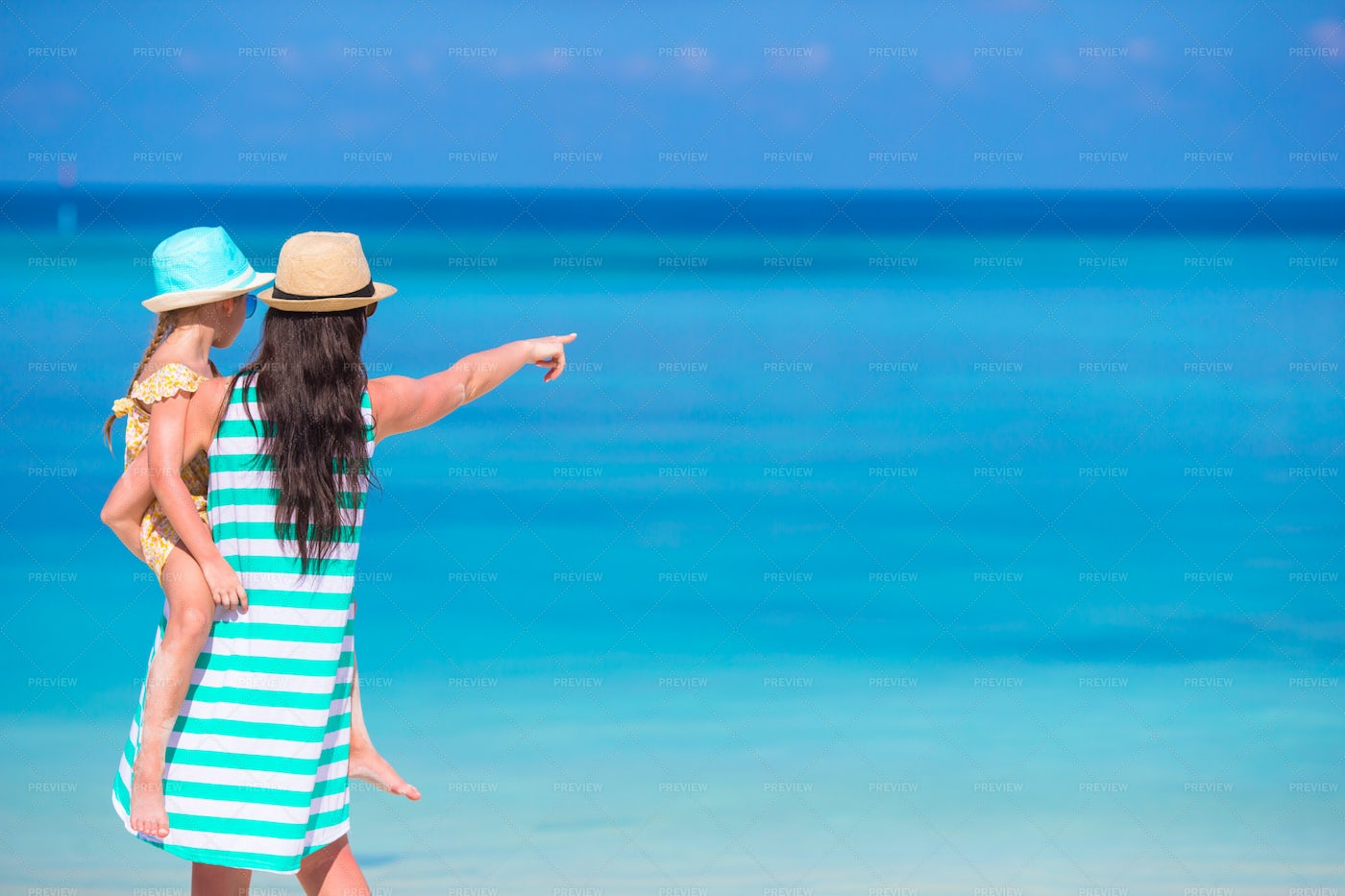 Looking At The Beach: Stock Photos