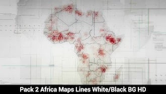 Africa Maps : Motion Graphics