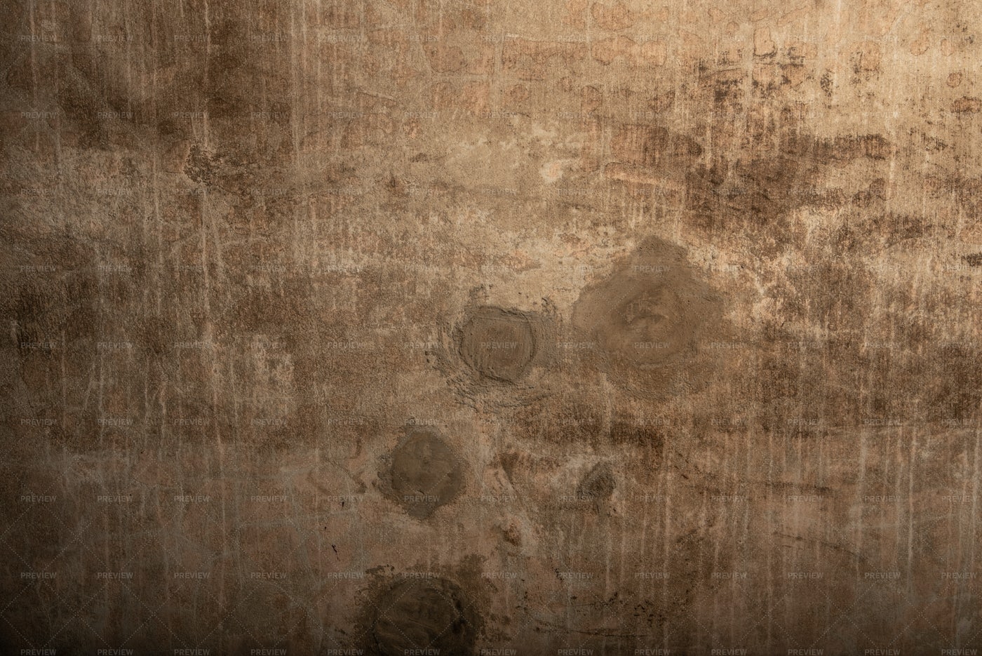 Mended Concrete Wall Texture: Stock Photos