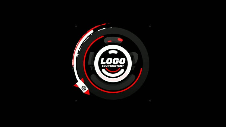 Rocket Logo: After Effects Templates