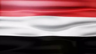 Yemen Flag: Motion Graphics