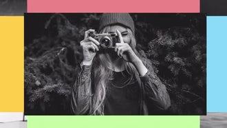 Colorful Slideshow: Premiere Pro Templates