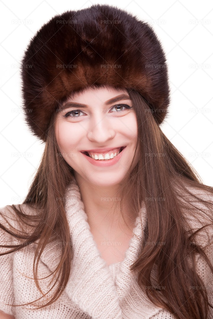 Woman In Winter Outfit: Stock Photos