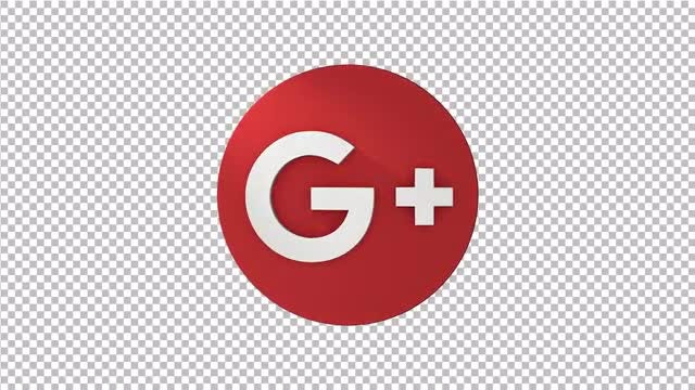 Google Plus Spinning Logo: Stock Motion Graphics