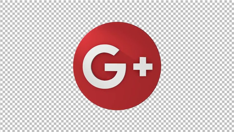 Google Plus Spinning Logo: Motion Graphics