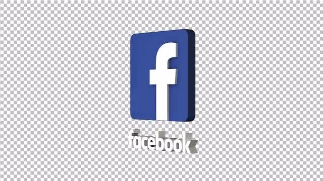 Facebook Spinning Logo: Stock Motion Graphics