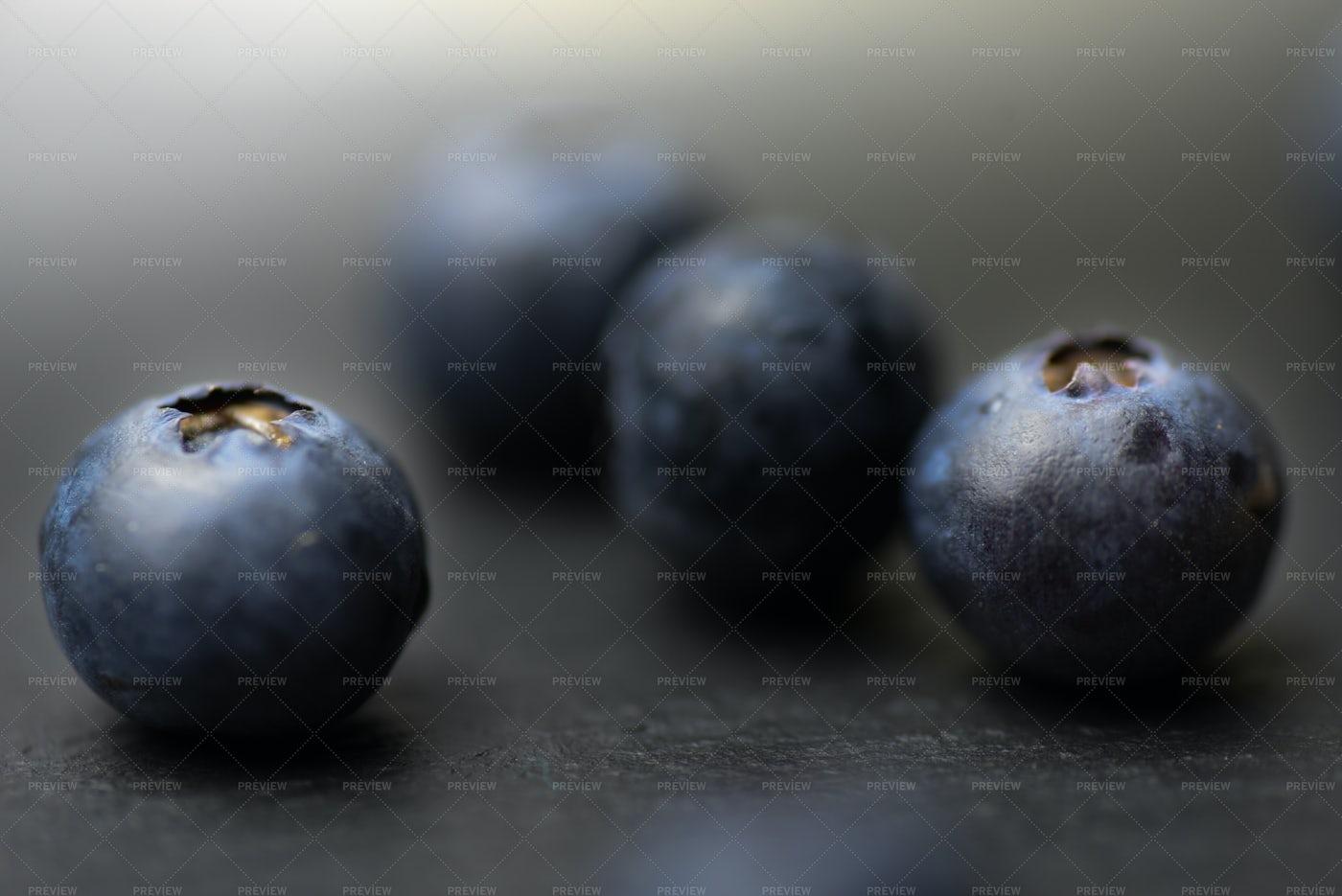 Blueberries: Stock Photos