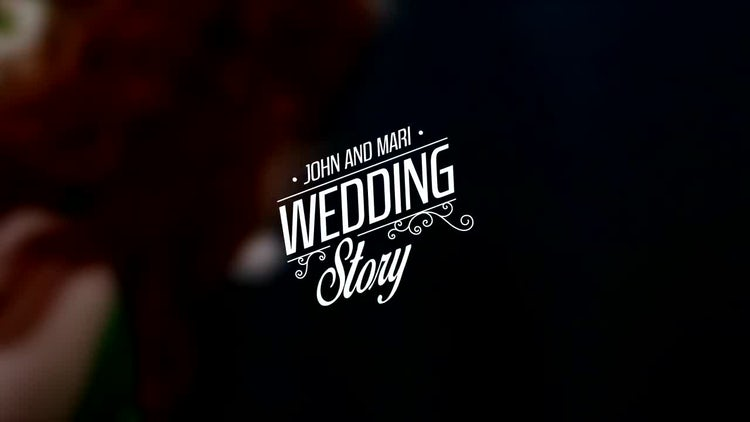 Wedding Titles Vol 3: After Effects Templates