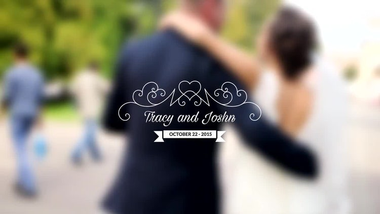 Wedding Titles Vol 4: After Effects Templates