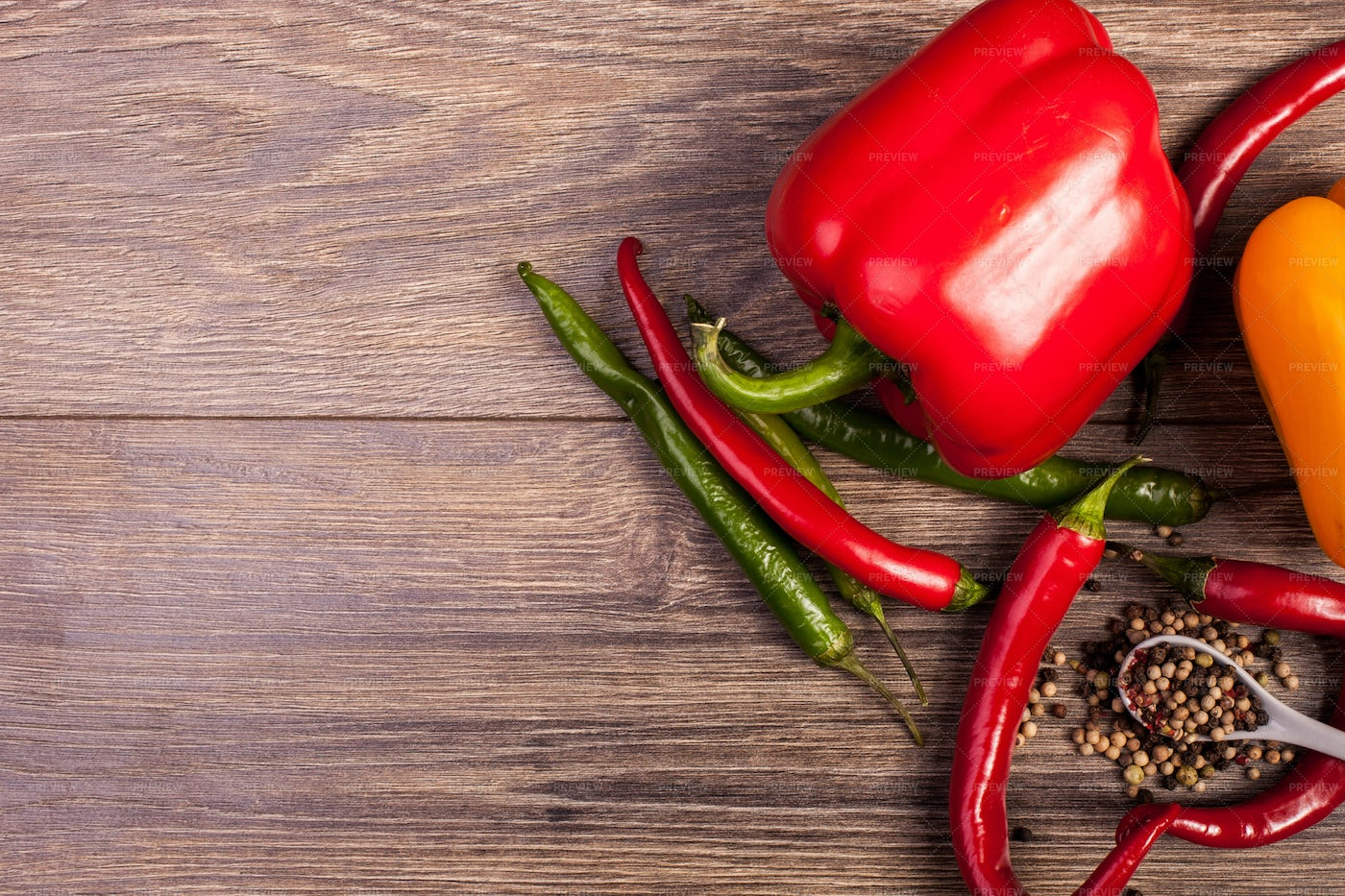 Assorted Peppers: Stock Photos