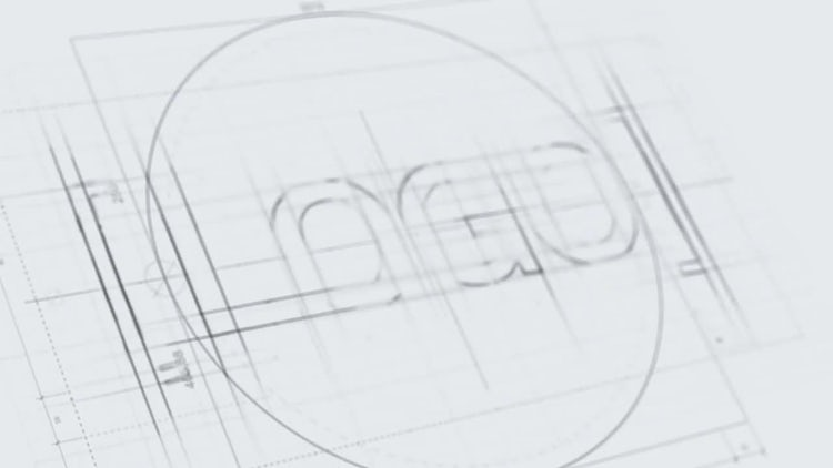 Technical Sketch Logo: After Effects Templates