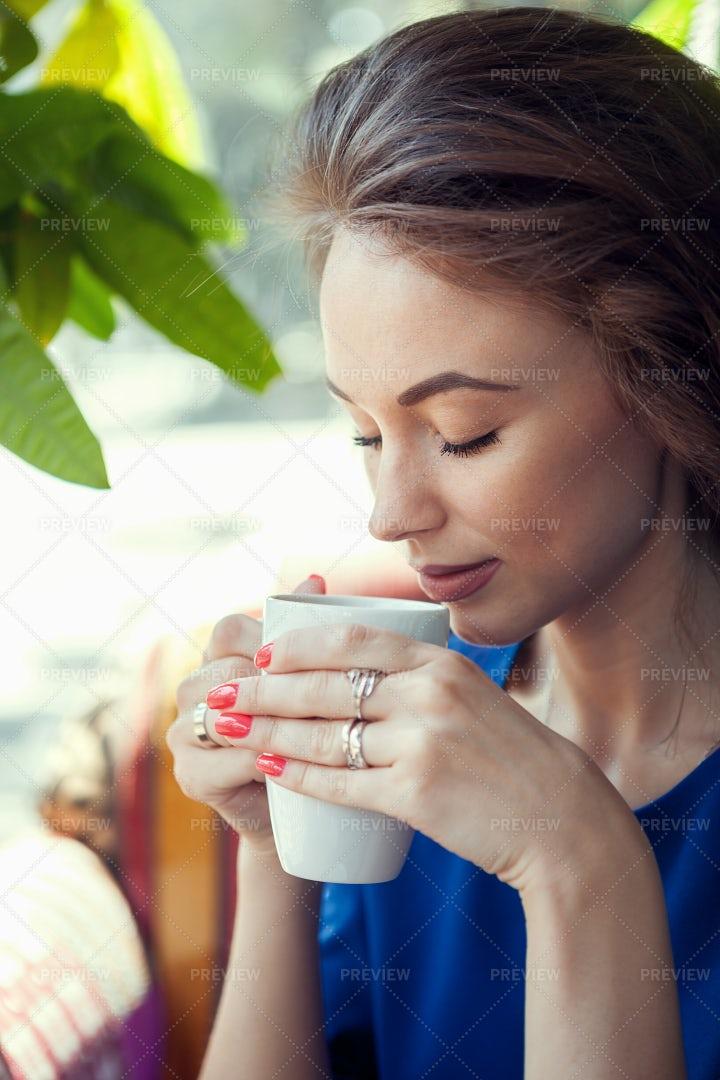 Aroma Of Morning Coffee: Stock Photos