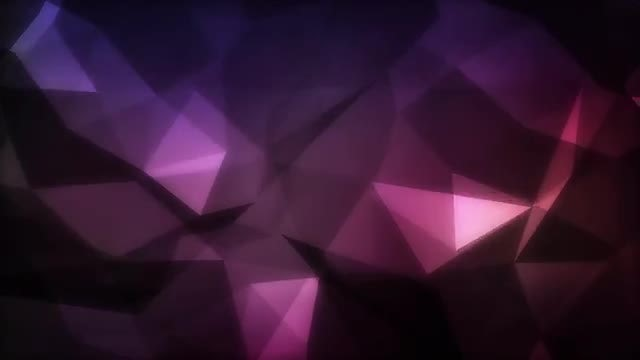 Dark Polygonal Background: Stock Motion Graphics