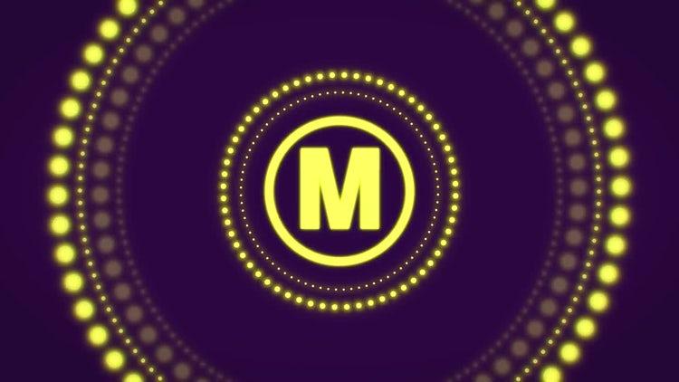 Rhythmic Glowing Logo: After Effects Templates