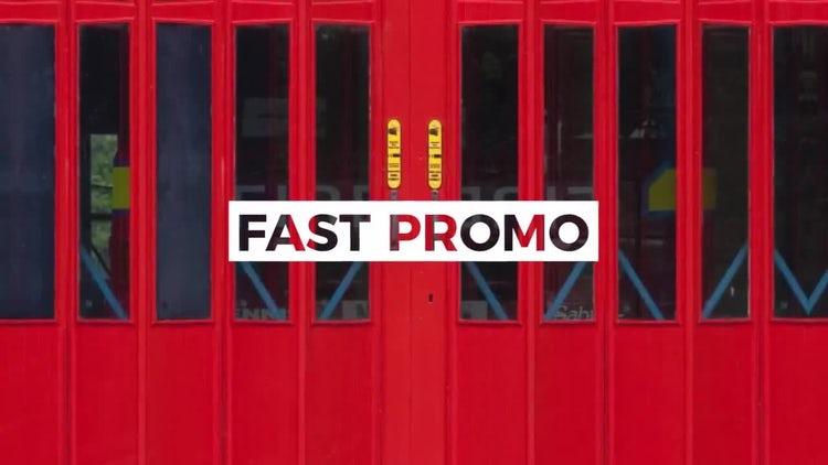 Summer Fast Promo: Premiere Pro Templates