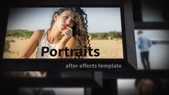 Portraits: After Effects Templates
