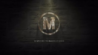 Old Metal Logo: After Effects Templates