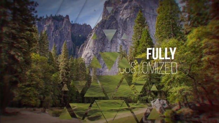 Glassy Slideshow: After Effects Templates