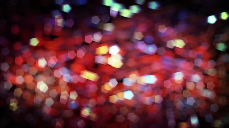 Holiday Bokeh Lights: Stock Motion Graphics