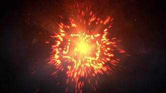 Particle Logo Explosion: After Effects Templates
