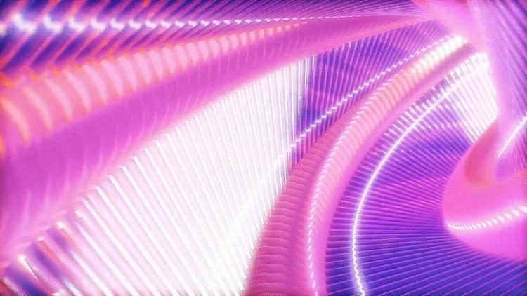 Neon tunnel: Motion Graphics