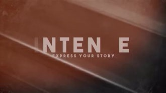 Intense: After Effects Templates