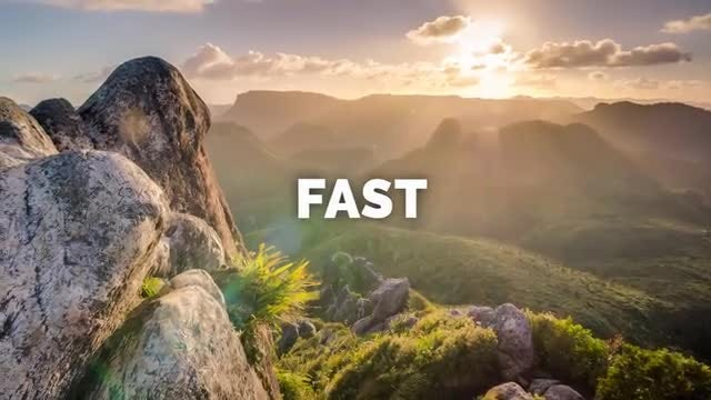 Fast Photo Stomp Slideshow: After Effects Templates