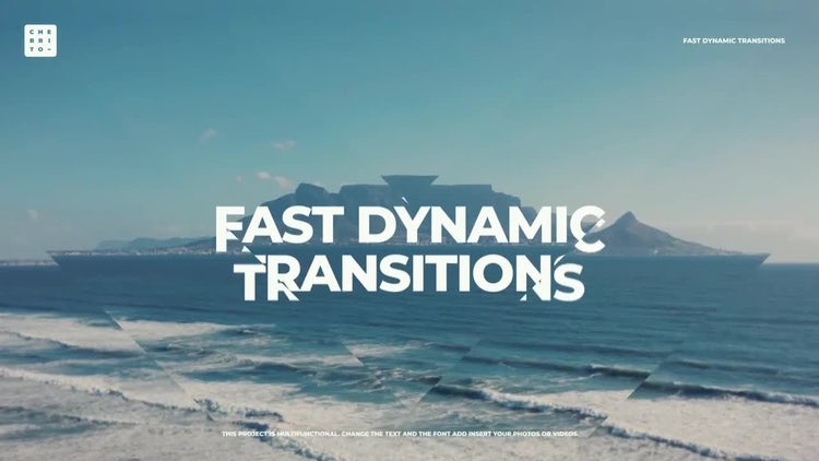 Fast Dynamic Transitions: Premiere Pro Templates