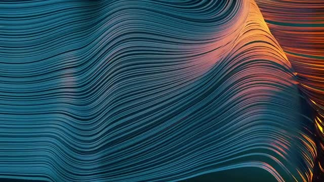 Abstract Lines: Stock Motion Graphics