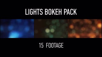 Lights Bokeh Pack: Motion Graphics