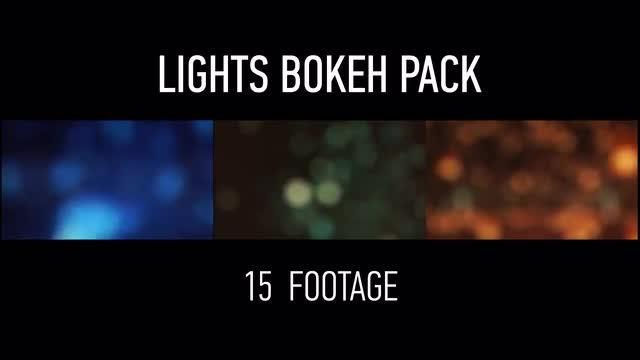 Lights Bokeh Pack: Stock Motion Graphics