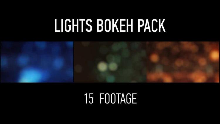 Lights Bokeh Pack: Motion Graphics