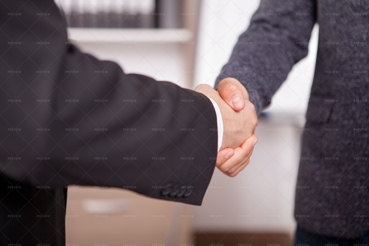 Close Up Of Shaking Hands: Stock Photos