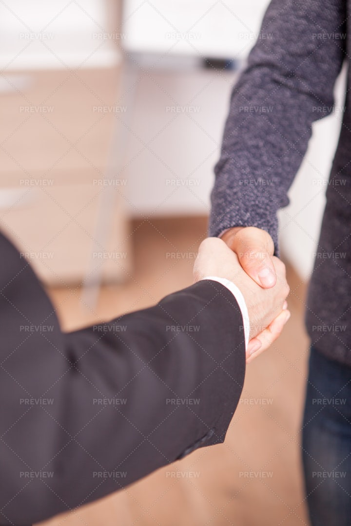 Partners Shaking Hands: Stock Photos