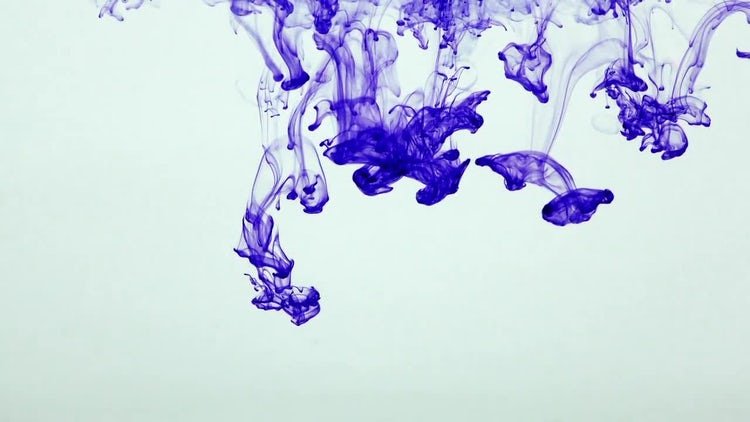 Colorful Ink Paint Splatter 32: Stock Video