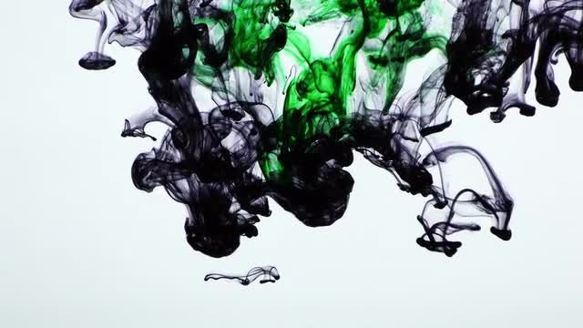 Ink In Water: Stock Video
