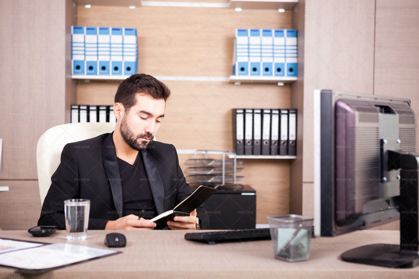 Working In The Office: Stock Photos