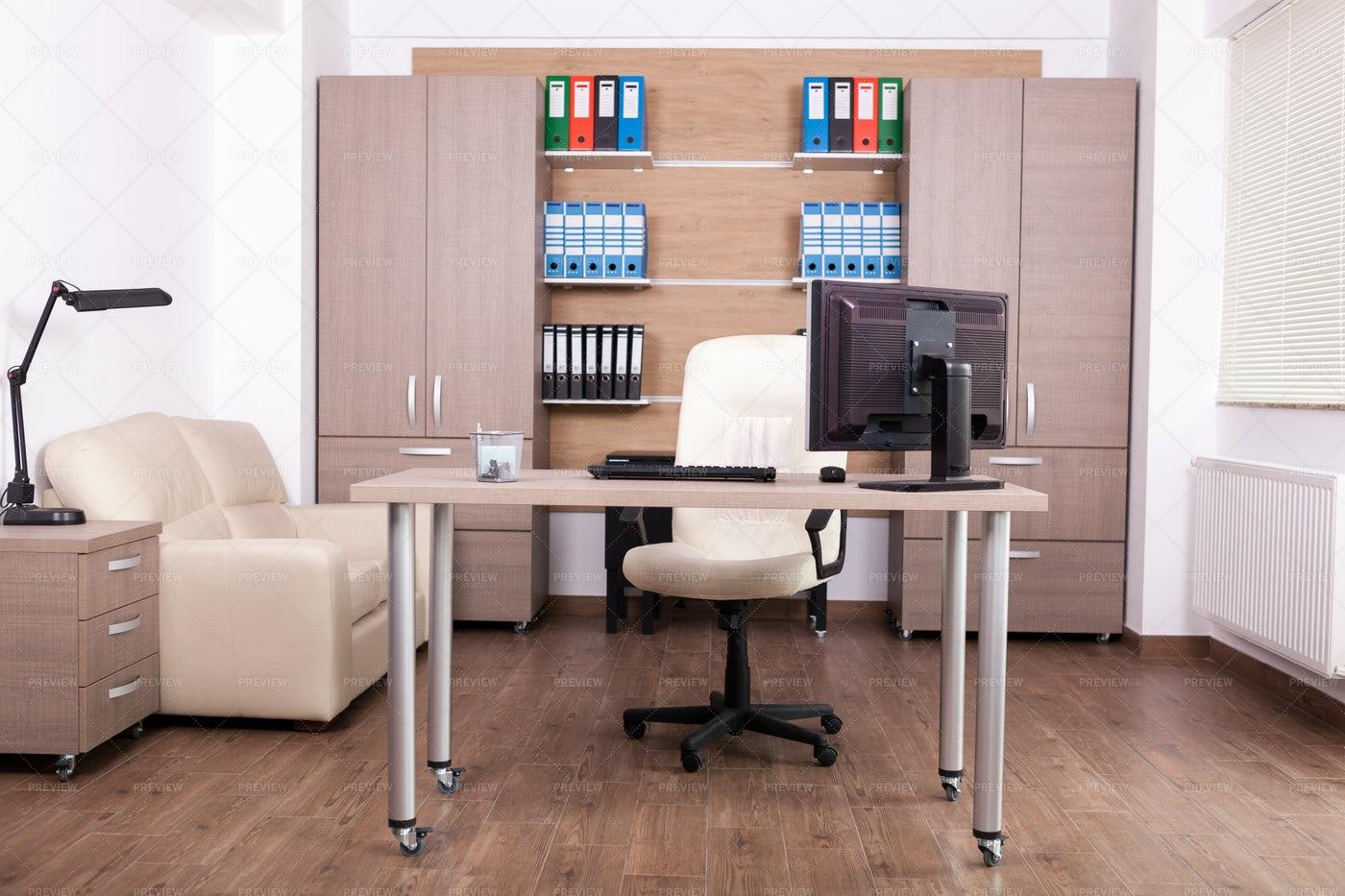 Business Office Interior: Stock Photos