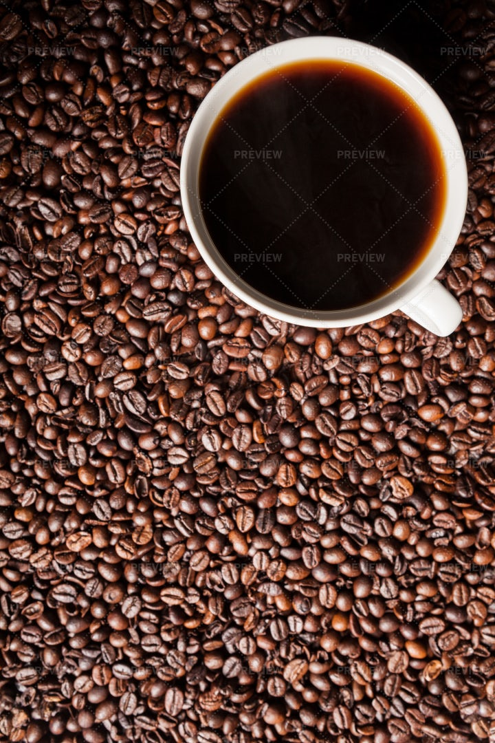 Coffee And Beans: Stock Photos