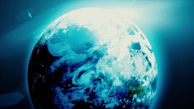 Rotation of the Earth: Stock Motion Graphics